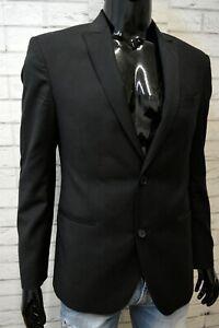 CALVIN KLEIN Uomo Taglia 44 Slim Giacca Jacket Man Cappotto Blazer da Ufficio