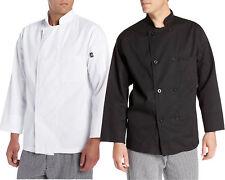 Dickies Men's Chef Coat, Basic 8 Button Chef Coat Dc118