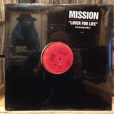 """[EDM]~SEALED 12""""~MISSION~Lover For Life~[4:00]~Extended~[6:05]~Back On Track~[4:"""