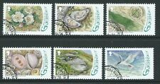 GUERNSEY 2016 RAMSAR HERM, NATURE SET OF 6 FINE USED