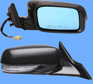 Outside Door Mirror Right Passenger Side for Acura TL Power Heated Memory Signal