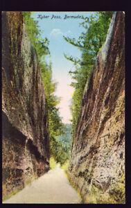 FOREIGN Bermuda Kyber Pass Postcard