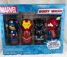 Marvel Bath Body Wash-Avengers/Spiderman/ Captain America/Black Panther Ironman