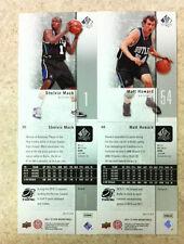 Shelvin Mack Matt Howard Butler Bulldogs Rookie 2-card Lot 2011-12 SP BK #35, 48