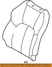 Dodge CHRYSLER OEM Stratus Front Seat-Cushion Cover-Top Back Left MN121003XA