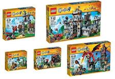 LEGO Collezione completa CASTLE KNIGHTS castello cavalieri 7set 70404 70403 king
