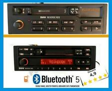Bluetooth 5.0 AUX Modernisierung Autoradio Umbau BMW Reverse RDS BP3836  BP4836