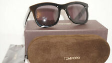 TOM FORD New Sunglasses Black Brown TF414-D 01A 55 20 145