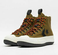 Converse Mens Bosey Mountain Club Boots MC Water Repellent Canvas 166222C Green