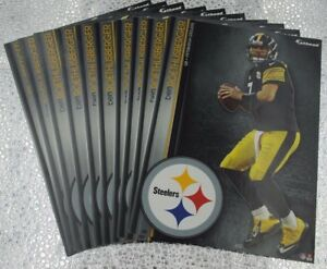 Ben Roethlisberger Pittsburgh Steelers (10) Fathead NFL Decals 5X7 Tradables P10