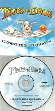 TEARS FOR FEARS Closest thing to heaven CARD 2003 PROMO DJ CD Single MP3 FORMAT
