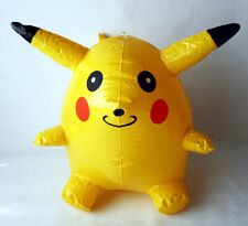 """RARE VINTAGE 90'S POKEMON PIKACHU INFLATABLE HANGING TOY FIGURE 33CM/13"""" NEW !"""