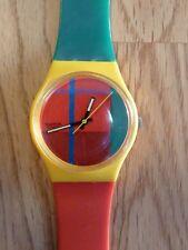 Swatch McGregor / GJ 100  aus 1985 gebraucht aber guter Zustand.