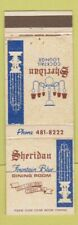 Matchbook Cover - Sheridan Fountain Blue Dining Room Cudahy WI