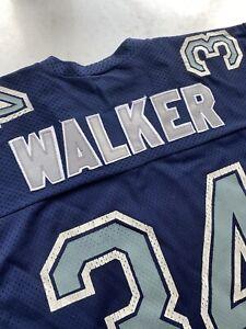 Vintage Dallas Cowboys Herschel Walker Jersey RAWLINGS USA Large Sewn Letters