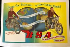 BSA MOTOR CYCLE IN THE WORLDA THE MOST