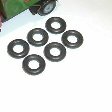 Tri-ang Minic Tires Set of 6 19mm Black Tyres for Cast Hubs Pack #120