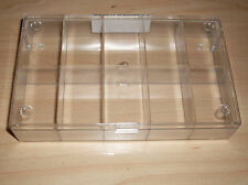 Sortimentkasten 10 Fächer transparent Box Sortieren Kleinteile 164x101x31 Neu