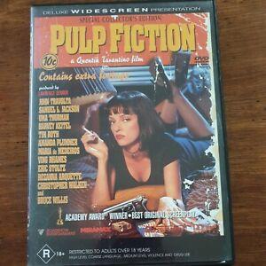 Pulp Fiction DVD R18+ Quentin Tarantino R4 – VERY GOOD FREE POST