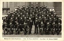 CPA PARIS Musique de la Garde de la Républicaine. M. Pierre DUPONT (676423)