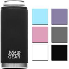 Wyld Gear 12 oz de acero inoxidable con aislamiento de vacío Slim puede refrigerador