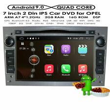 "7"" HD DVD GPS Autoradio NAVI Android 10 DAB+ Für Opel Antara Meriva Astra Zafira"