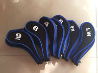 10x Golf Iron Head Cover Headcover For Nikee Vapor Pro Callaway Cobra Irons Gift