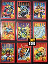 X-Men Series 2 1993 Trading Cards Marvel Comics Vintage Complete 100 pcs RARE!