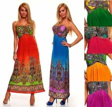 Unbranded Paisley Polyester Maxi Party Dresses for Women