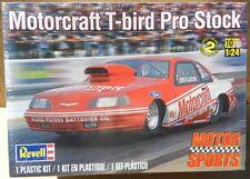 BOB GLIDDEN FORD THUNDERBIRD T BIRD PRO STOCK MOTORCRAFT DRAG REVELL MODEL KIT