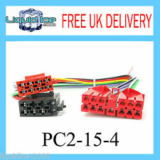 PC2-15-4 RENAULT CLIO 1991 - 1992 ISO STEREO HEAD UNIT HARNESS ADAPTOR LEAD