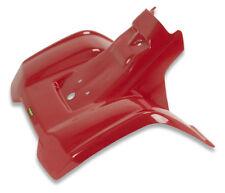 NEW HONDA TRX70 RED REAR PLASTIC FENDER 86-87 PLASTICS