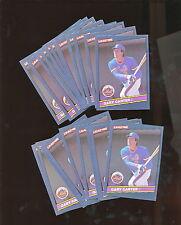 1986 Donruss Leaf #63 Gary Carter 21 Card Pack Fresh Lot