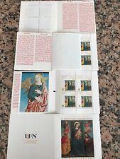 """Libretto numismatico NON OBLITERATO Città Del Vaticano 2009 N """"Angelo Blu"""":LEGGI"""