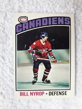 1976-77 O-Pee-Chee  BILL NYROP Montreal Canadiens Card #188