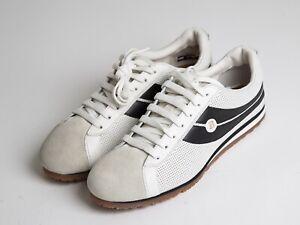 (RRP$614) Bally Bredy Men leather low top white sneakers US8 EU41 UK7 NWB