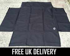 BLACK CAR BOOT LINER PROTECTOR DOG GUARD MAT COVER - FITS VW VOLKSWAGEN POLO