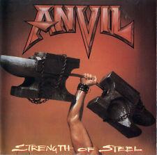 Anvil - Strength Of Steel ( AUDIO CD in JEWEL CASE )