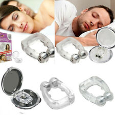 Clipple Silicone Magnetic Anti Snore Stop Snoring Nose Clip Sleep Sleeping Aid