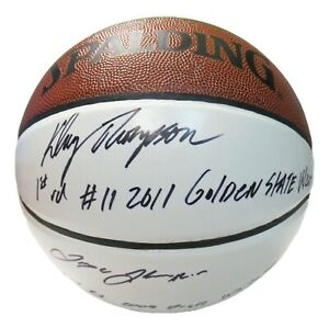 Klay Thompson Signed Autographed Basketball Mychal Trayce PSA/DNA AJ56414