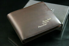 Men Everyday Classic Brown Quality Soft Real Leather Wallet Card Holder Bifold