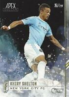 2015 Topps Major League Soccer Apex Base Card Short Print Different Variations