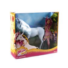 Mattel BFW40 Pferd Mia and Me Einhorn Wind  Mädchen Spielzeug ca. 26 cm groß