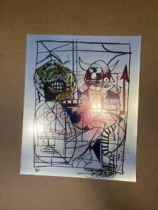 Joey Feldman  Crayon Monster FOIL Variant Print #1/25BNG SOLDOUT Mint Rare #1