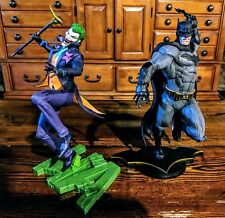 DC Collectibles DC CORE: Batman and Joker PVC Statue Gallery scale