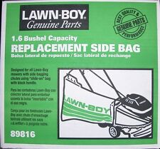 LAWN-BOY REPLACEMENT SIDE BAG PART # 89816  NEW