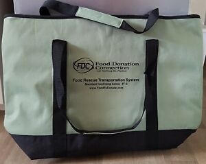 Ex Lge Insulated/ Cool Bag For Deliveries, Picnics, Shopping, Camping