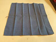 Alfani Polyester/Cotton Pocket Square, Solid Blue
