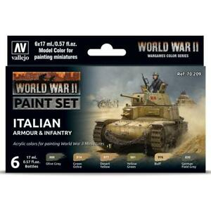 Vallejo Model Color WWII Set - Italian Armour & Infantry