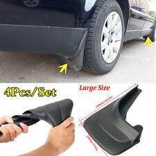 "4Pcs 14.17""x9.45"" Front&Rear Car Fenders ABS Soft Plastic Splash Guards Mud Flap"